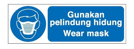 Mandatory Signs - Wear Mask