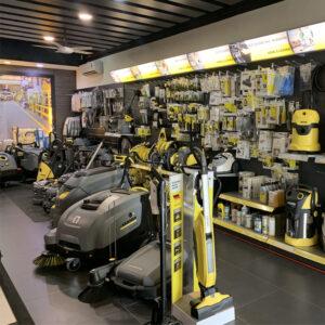 karcher showroom